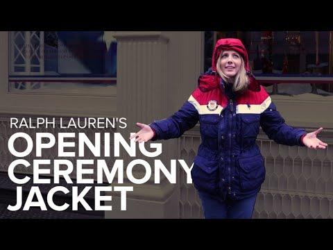 I tried on Team USA's Opening Ceremony heated jacket