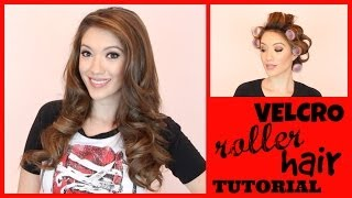 VELCRO ROLLER HAIR TUTORIAL + $1,000 GIVEAWAY! | Blair Fowler Thumbnail
