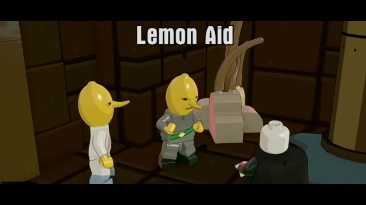 Lemon Aid - Adventure Time Adventure World Mission - Lego ...