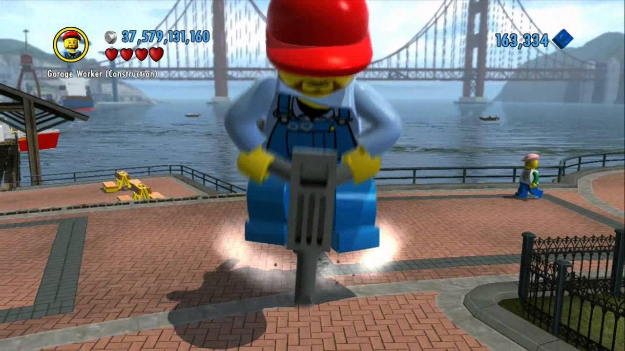 Lego city undercover character guide lego super - Construction en lego impressionnante ...