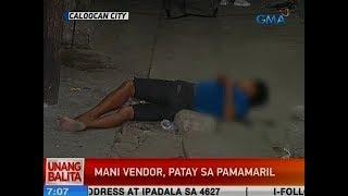 UB: Mani vendor, patay sa pamamaril sa Caloocan City