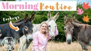 MORNING ROUTINE of an Equestrian | Autumn/Fall 2019 | This Esme