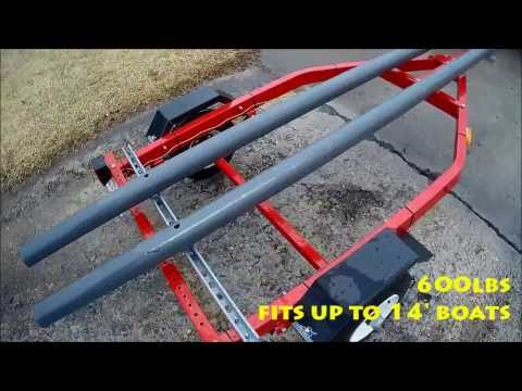 Cheap trailer for hobie pro angler for Diy kayak fishing accessories