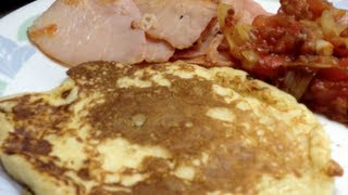 Savoury Ricotta Hotcakes Thermochef Video Recipe Cheekyricho