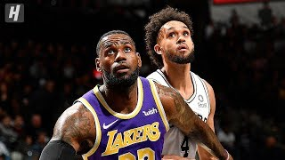 Los Angeles Lakers vs San Antonio Spurs - Full Highlights | November 3, 2019 | 2019-20 NBA Season