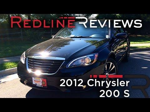 2012 chrysler 200s review