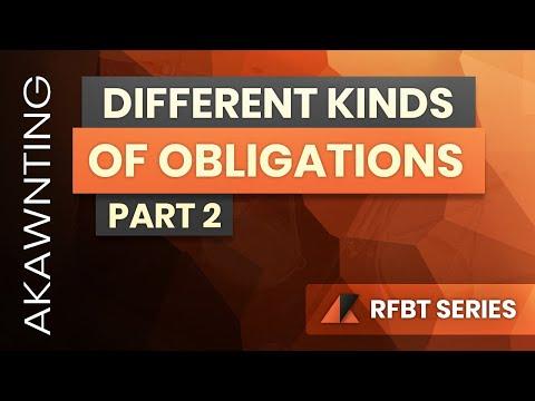 Kinds of Obligations Part 2 (2020)