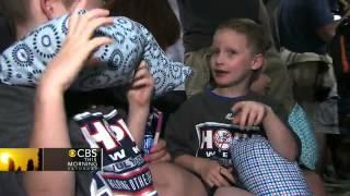 Yankees honor 10-year-old girl