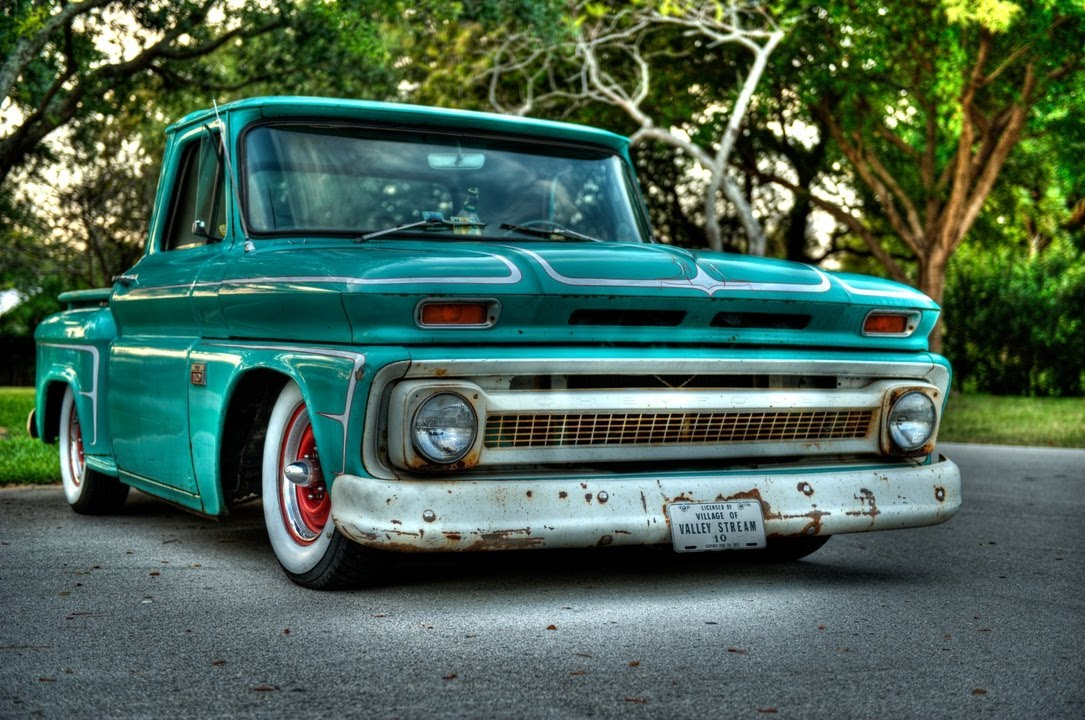 66 C10 Rat Rod Truck  YouTube