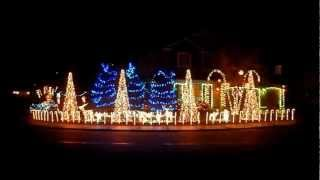Cadger Dubstep Christmas Lights House 2012 - Bangarang and Cinema Mix by Skrillex