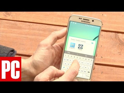 How to Create a Folder on the Samsung Galaxy S6