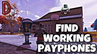 FINDEN SIE FUNKTIONIERENDE PAY PHONES | LIEBE WARS | FORTNITE SAVE THE WORLD