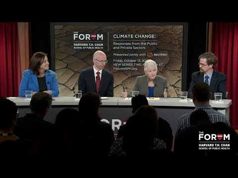 Climate Change: Responses from the Public and Private Sectors