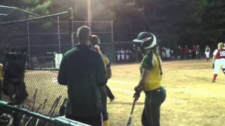 North Attleboro at King Philip Softball game played on 5/18/14 (5/17)