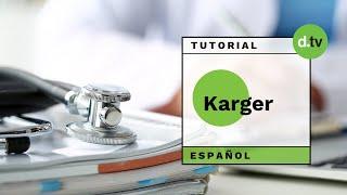 DOTLIB - Karger (Español) - Tutorial