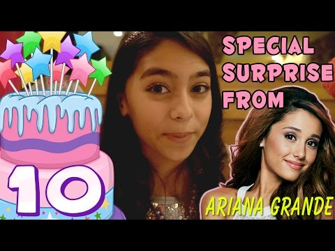 Mercedes Birthday Surprise From Ariana Grande - Not Clickbait : VLOG IT // GEM Sisters