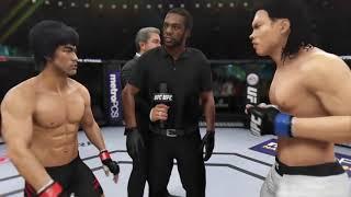 Bruce Lee vs. Bolo Yeung (EA Sports UFC 3) - CPU vs. CPU