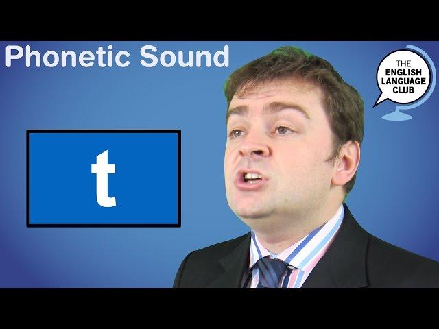 The /t/ Sound
