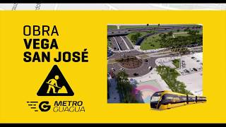 [MetroGuagua] Obras en la Vega de San José