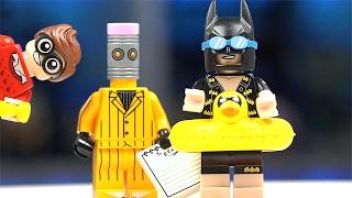 Раскрываем LEGO Бэтмен Минифигурки!