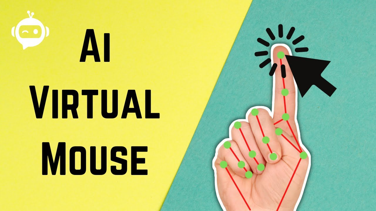 AI Virtual Mouse | OpenCV Python | Computer Vision