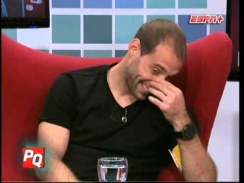 Pablo Zabaleta en Pura Quimica (28-05-2012)