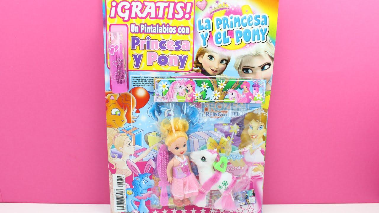 Revista la princesa y el pony revistas para ni os - Para ninos infantiles ...