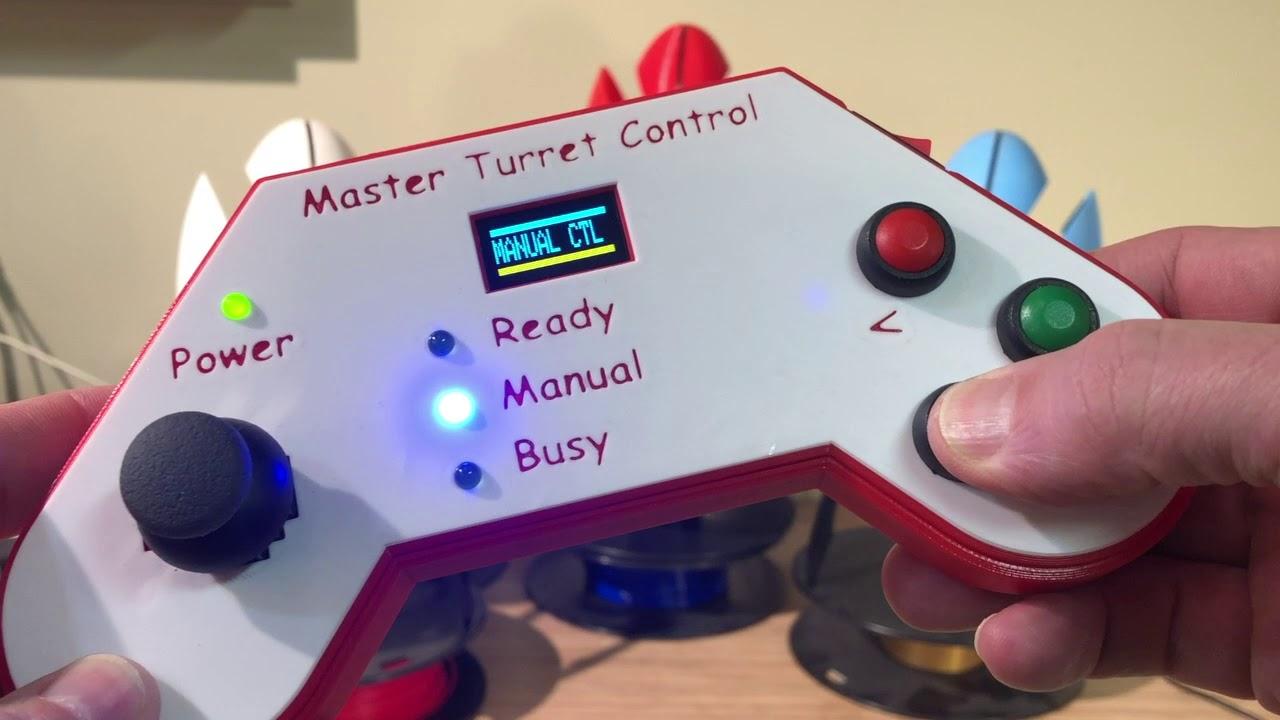 Portal 2 Turret - Master Turret Control of Portal 2 Turrets