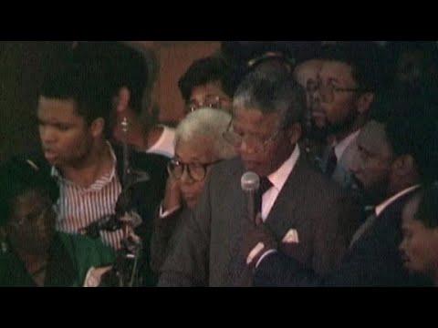 After 27 years in prison, Mandela speaks
