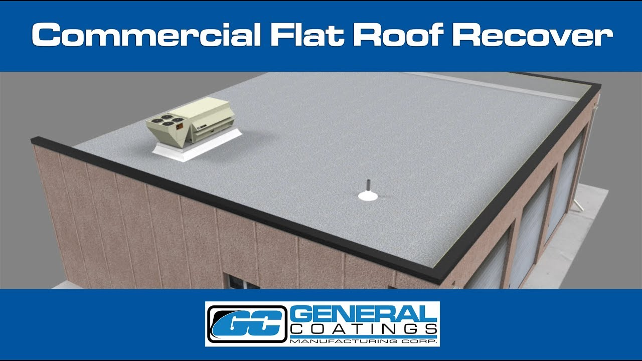 Spray Foam Detail - Commercial Flat Roof Recover
