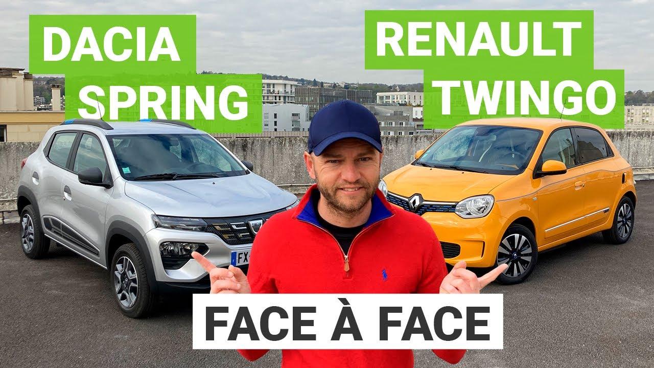 Dacia Spring vs. Renault Twingo ZE : les 4000€ d'écart font-ils la différence ?