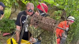 Спасатели и спелеологи провели совместные учения  в катакомбах