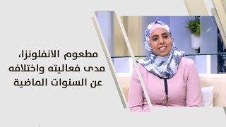 د. رولى محمد راشد - مطعوم الانفلونزا، مدى فعاليته واختلافه عن السنوات الماضية
