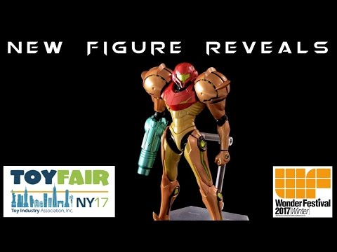 New York Toy Fair & WonFes 2017 NEW FIGURE REVEALS | Imports