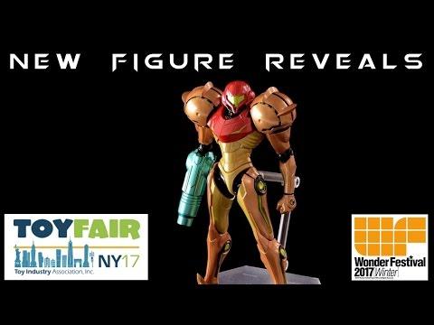 New York Toy Fair & WonFes 2017 NEW FIGURE REVEALS | Imports