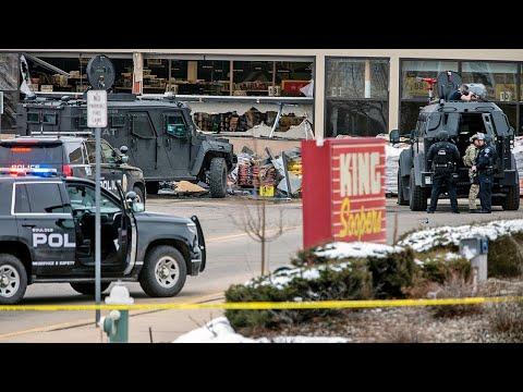 Boulder shooting: Gun attack at Colorado supermarket leaves 10 people dead