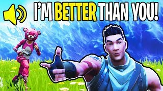 TROLLING *LITTLE KID* IN FORTNITE BATTLE ROYALE!!