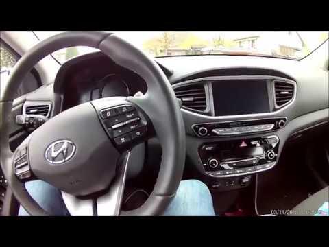 Hyundai IONIQ Electric - Innenraum Heizen im Herbst