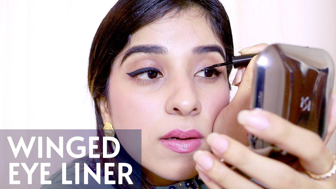 My kinda Winged Eyeliner - Aparna Thomas