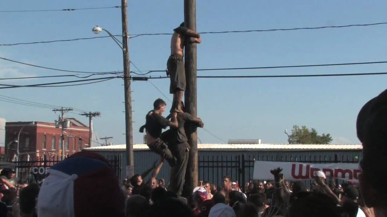 Greasing the pole
