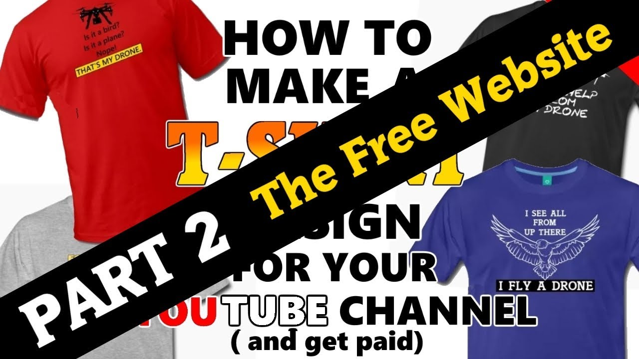 Design your t shirt and sell - T Shirt Design And Sale Part 2 How I Use Spreadshirt To Sell Drone Shirts And Other Merchandise