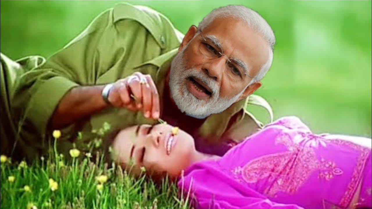 Dil Mein Dard Sa Jaga Hai || Boby Deol || Modi and sonia Gandhi version || Kranti