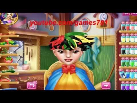 العاب بنات مضحكة | لعبة قص شعر الاميرة