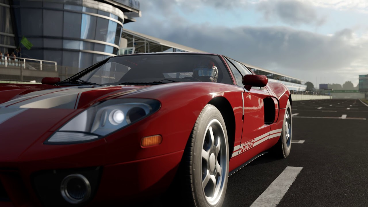 Forza Motorsport   Ford Gt Car Show Speed Crash Test
