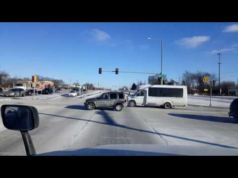 BigRigTravels LIVE! Belvidere to East St. Louis, Illinois Interstate 39 & 55-Jan. 5, 2018
