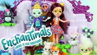 Enchantimals • Lalki ze zwierzakami • Zaklęte drzwi • Bajki dla dzieci