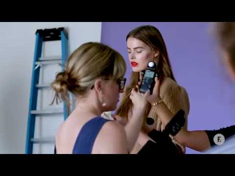Behind the Scenes with Model Robyn Lawley