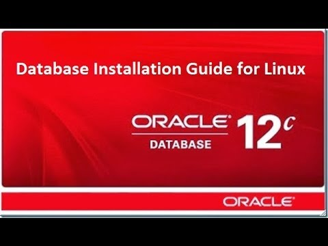 How to install oracle 12c on Linux
