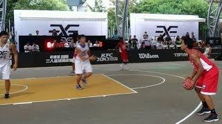 """(Loveneet Singh Atwal)""""INDIA"""" Highlights-3x3 Basketball at China *HD"""
