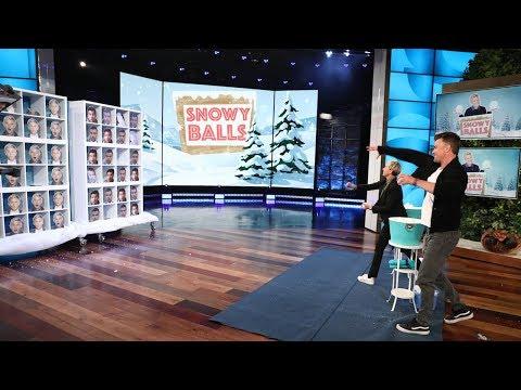 Josh Duhamel and 'Snowy Balls'